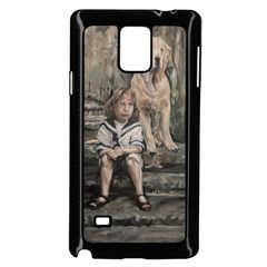 An Old Friend Samsung Galaxy Note 4 Case (black) by redmaidenart