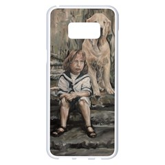 An Old Friend Samsung Galaxy S8 Plus White Seamless Case by redmaidenart