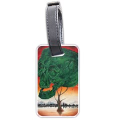 Skull Hedge Luggage Tags (two Sides)