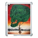 Skull Hedge Apple iPad 3/4 Case (White) Front