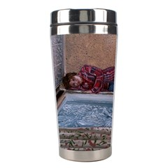 90 Degrees Stainless Steel Travel Tumblers by redmaidenart