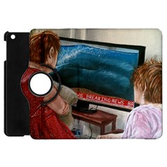 Breaking News Apple Ipad Mini Flip 360 Case by redmaidenart