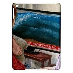 Breaking News Ipad Air Hardshell Cases by redmaidenart