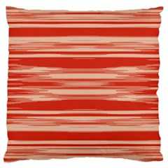 Abstract Linear Minimal Pattern Large Cushion Case (one Side) by dflcprints