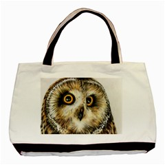 Owl Gifts Basic Tote Bag (two Sides) by ArtByThree