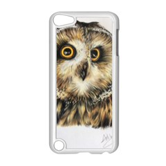 Owl Gifts Apple Ipod Touch 5 Case (white) by ArtByThree