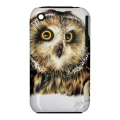 Owl Iphone 3s/3gs by ArtByThree