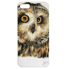 Owl Apple Iphone 5 Hardshell Case With Stand by ArtByThree