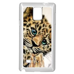 Jaguar Cub Samsung Galaxy Note 4 Case (white)
