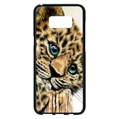 Jaguar Cub Samsung Galaxy S8 Plus Black Seamless Case