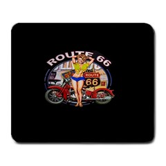 Route 66 Large Mousepads by ArtworkByPatrick