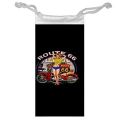 Route 66 Jewelry Bag by ArtworkByPatrick