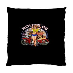 Route 66 Standard Cushion Case (one Side) by ArtworkByPatrick