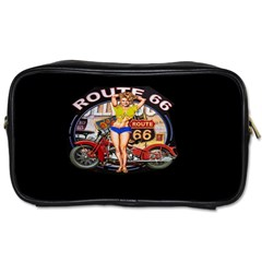 Route 66 Toiletries Bags by ArtworkByPatrick