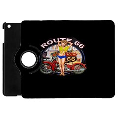 Route 66 Apple Ipad Mini Flip 360 Case by ArtworkByPatrick