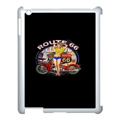 Route 66 Apple Ipad 3/4 Case (white) by ArtworkByPatrick