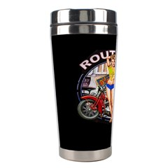 Route 66 Stainless Steel Travel Tumblers by ArtworkByPatrick