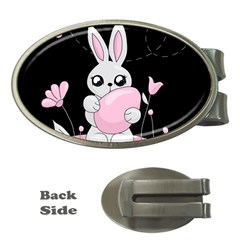 Easter Bunny  Money Clips (oval)