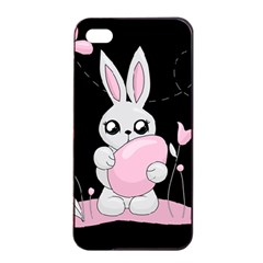 Easter Bunny  Apple Iphone 4/4s Seamless Case (black)