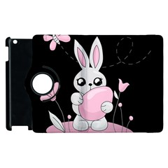 Easter Bunny  Apple Ipad 3/4 Flip 360 Case by Valentinaart