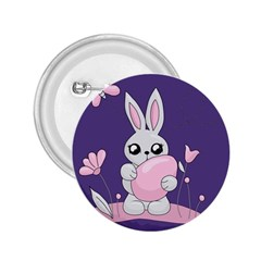 Easter Bunny  2 25  Buttons