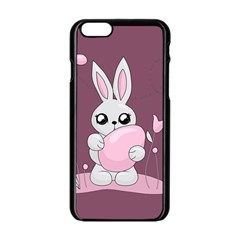 Easter Bunny  Apple Iphone 6/6s Black Enamel Case