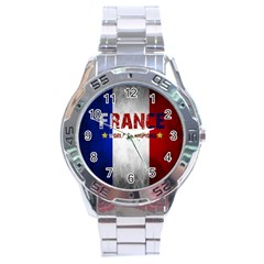 Football World Cup Stainless Steel Analogue Watch by Valentinaart