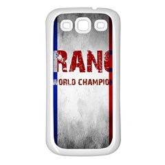 Football World Cup Samsung Galaxy S3 Back Case (white)