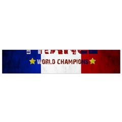 Football World Cup Small Flano Scarf