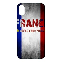 Football World Cup Apple Iphone X Hardshell Case by Valentinaart