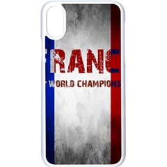 Football World Cup Apple Iphone X Seamless Case (white) by Valentinaart