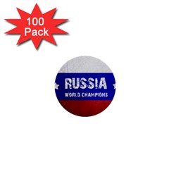 Football World Cup 1  Mini Buttons (100 Pack)  by Valentinaart