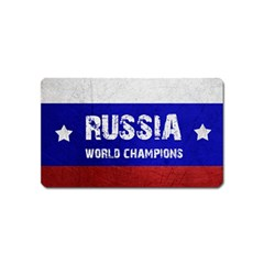 Football World Cup Magnet (name Card) by Valentinaart