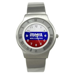 Football World Cup Stainless Steel Watch