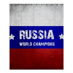 Football World Cup Shower Curtain 60  X 72  (medium)