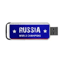 Football World Cup Portable Usb Flash (two Sides) by Valentinaart
