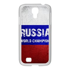Football World Cup Samsung Galaxy S4 I9500/ I9505 Case (white)