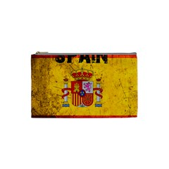 Football World Cup Cosmetic Bag (small)  by Valentinaart