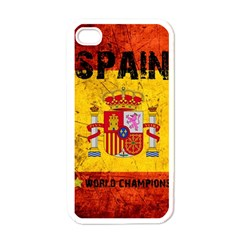 Football World Cup Apple Iphone 4 Case (white) by Valentinaart