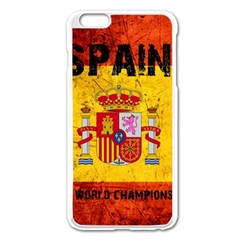 Football World Cup Apple Iphone 6 Plus/6s Plus Enamel White Case by Valentinaart