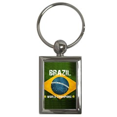 Football World Cup Key Chains (rectangle)  by Valentinaart
