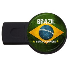 Football World Cup Usb Flash Drive Round (2 Gb) by Valentinaart