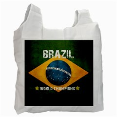 Football World Cup Recycle Bag (two Side)