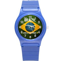 Football World Cup Round Plastic Sport Watch (s) by Valentinaart