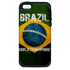 Football World Cup Apple Iphone 5 Hardshell Case (pc+silicone) by Valentinaart