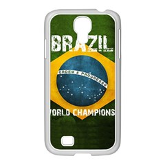 Football World Cup Samsung Galaxy S4 I9500/ I9505 Case (white) by Valentinaart