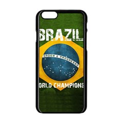 Football World Cup Apple Iphone 6/6s Black Enamel Case