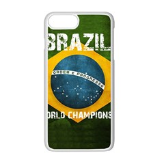 Football World Cup Apple Iphone 7 Plus Seamless Case (white) by Valentinaart