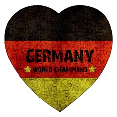 Football World Cup Jigsaw Puzzle (heart) by Valentinaart