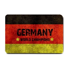 Football World Cup Small Doormat  by Valentinaart
